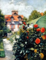 Gustave Caillebotte - The Dahlias, garden at Petit Gennevilliers, 1893