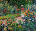 Claude Monet - Garden at Giverny, 1895