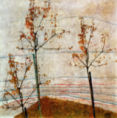 Egon Schiele - Autumn Trees, 1911