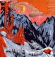 Ernst-Ludwig Kirchner - Mountains in Winter, 1919