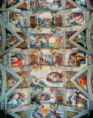 Michelangelo Buonarroti - Sistine Chapel ceiling and lunettes, 1508-12