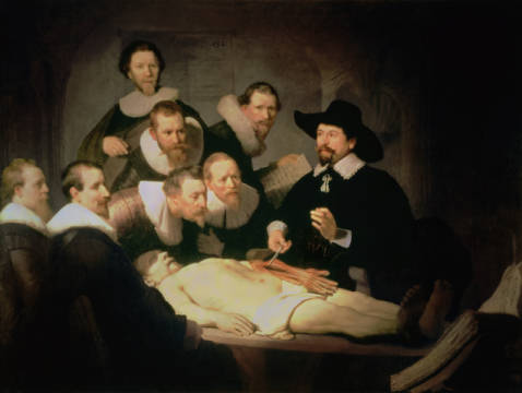 Harmensz Van Rijn Rembrandt The Anatomy Lesson Of Dr Nicolaes