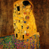 The Kiss, 1907-08 of Gustav Klimt