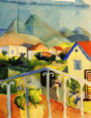 August Macke - St.Germain bei Tunis