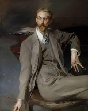 boldini bildnis eines sitzenden herrn englische maler