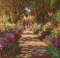 Claude Monet - Weg in Monets Garten in Giverny