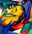 Franz Marc - The tiger