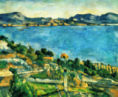 Paul Cézanne - View of the Gulf of Marseille